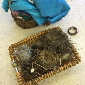 our collection of nests, a variety of circles and materials